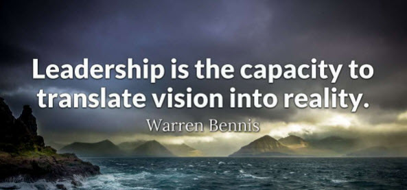 Servant Leaders Have VIsion