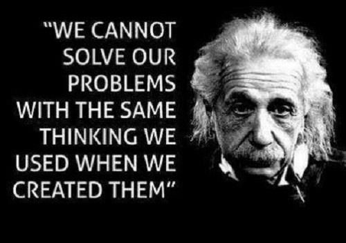 Servant Leaders Think Like Einstein